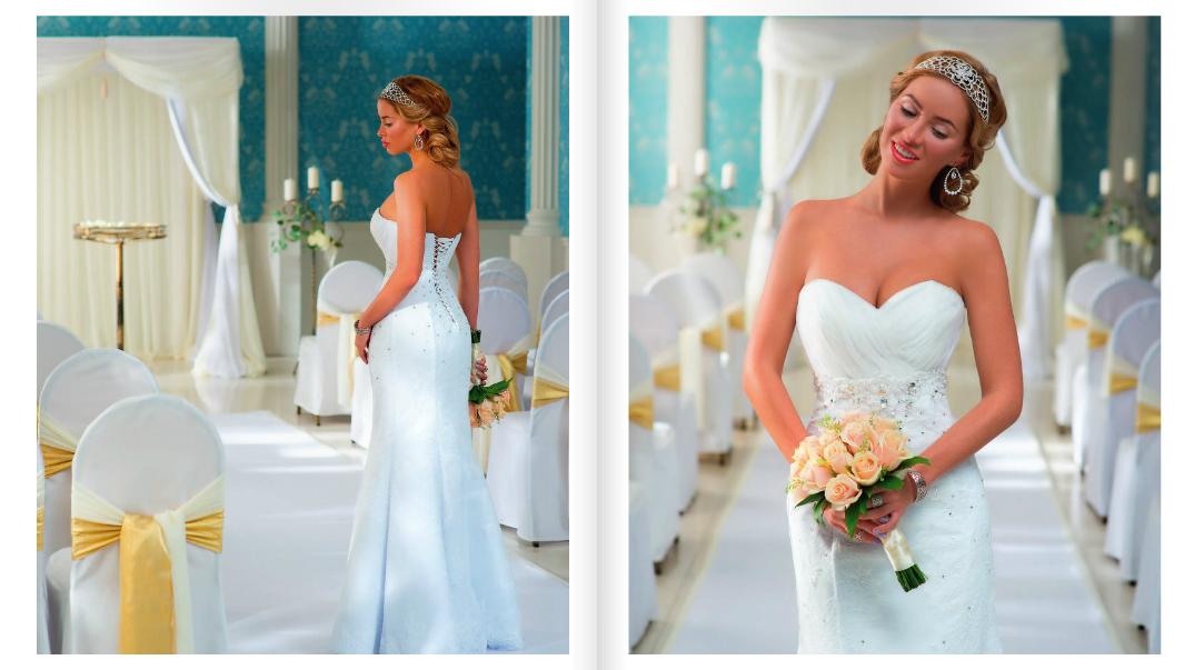 Видеосъёмка для свадебного журнала «BRIDE»