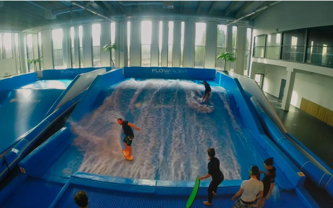 Sirius Sport Resort surfing flowriding