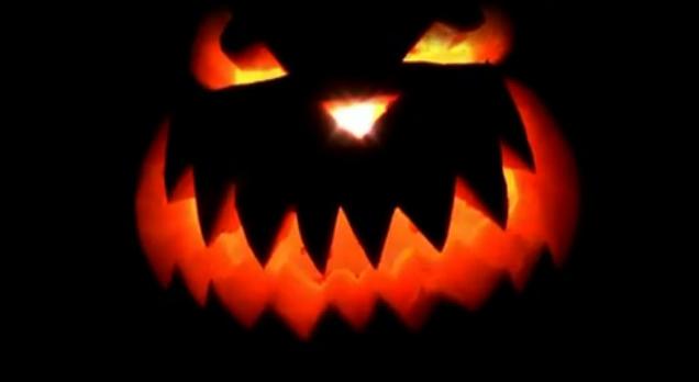 Оформление Halloween в клубе The Club