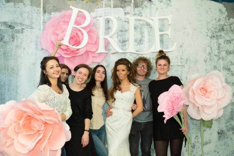 Видеосъёмка ролика о проведении фотосессии для журнала Bride